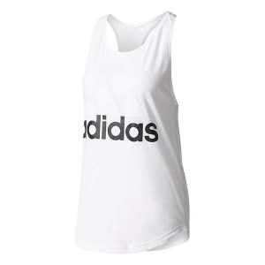 adidas-essentials-linear-loose-white-tank-front